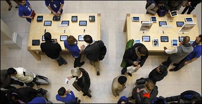 Apple retakes HP's lead ahead of world record <br>in PC and tablet shipments
