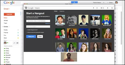 Google adds 'Hangouts' video chat for up to 9 people