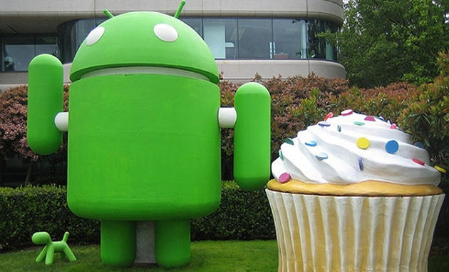 On its fourth birthday, Android takes the cake <br>with 75% market share
