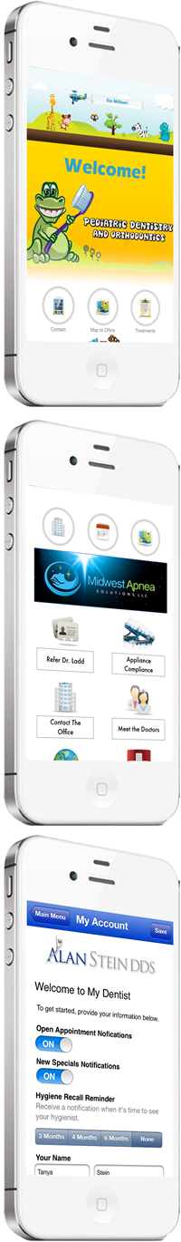 DentalAnywhere mobile dental apps iPhone