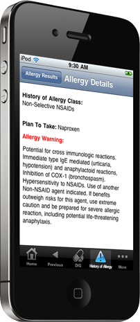 PEPID PCP drug reference iPhone