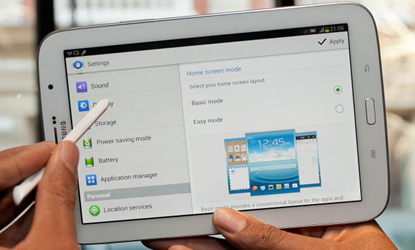 samsung galaxy tab  ships july