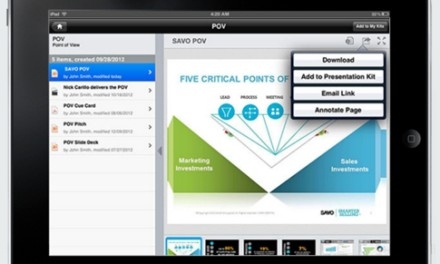 SAVO: Savvy mobile CRM & sales presentation software