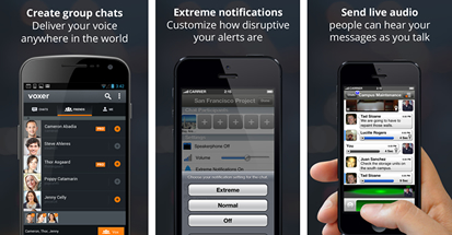 Voxer: Efficient team communications for better business