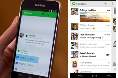 Hangouts weds Google Voice to take on Skype