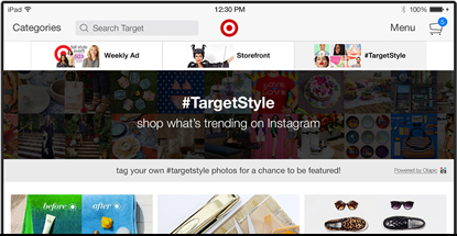 Target mobile app for iPad makes shopping fun