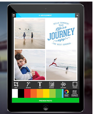 Photify photo editor app iPad