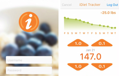 iDiet app — clinically proven weight loss without hunger