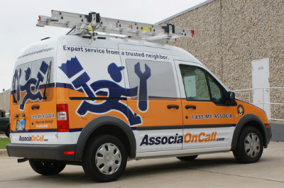 Associa maintenance van