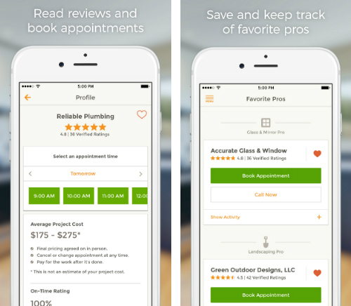 HomeAdvisor app puts maintenance experts & contractors in your hand