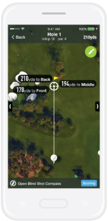 18Birdies golf app GPS+