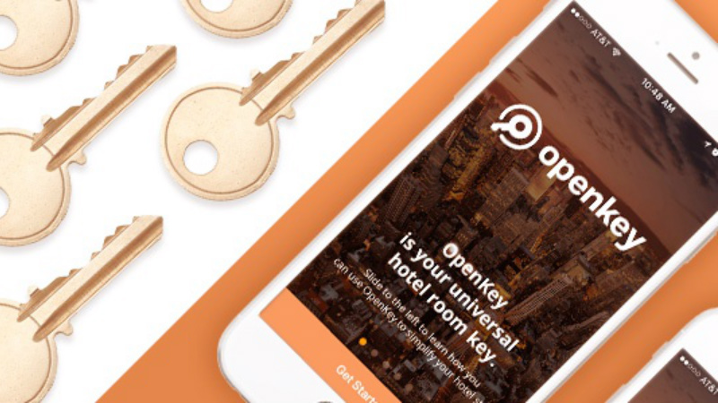 OpenKey: The 1st mobile key & check-in app for hotel guests