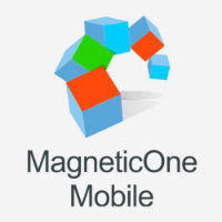 MagneticOne Mobile business card reader logo
