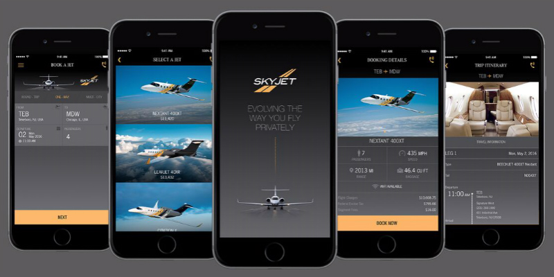 Skyjet: Your #1 private jet charter app