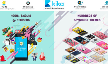 Kika Emoji Keyboard for Android hits top-seller ranking