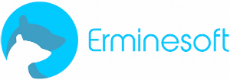 Erminesoft app development logo