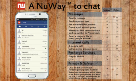 NuWay chat app — Your new, better way of messaging
