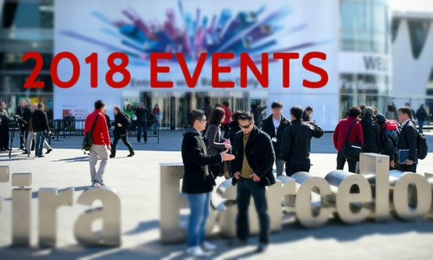 2018 Tech Events Calendar: New events added up to May 2018!