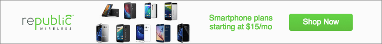 Republic Wireless sale banner