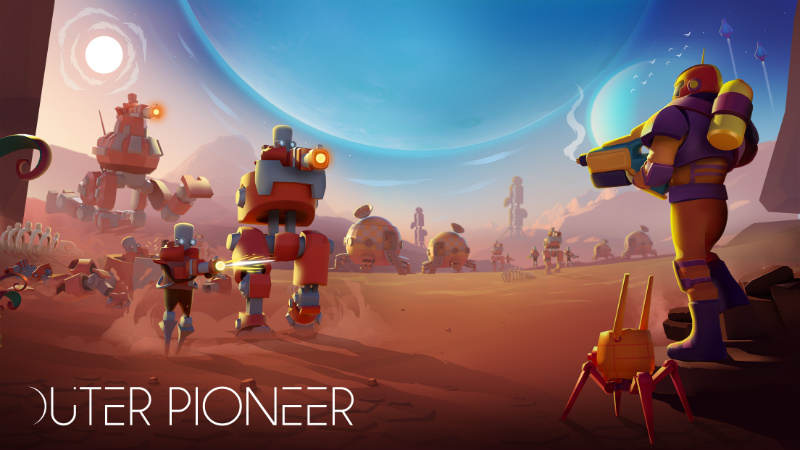 Discover new worlds & capture aliens in Vivid's exciting Outer Pioneer space game