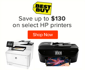 Best Buy HP printers sale