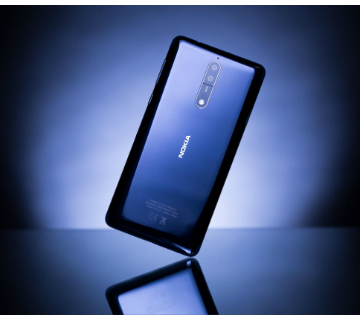 Nokia 8 phone backside