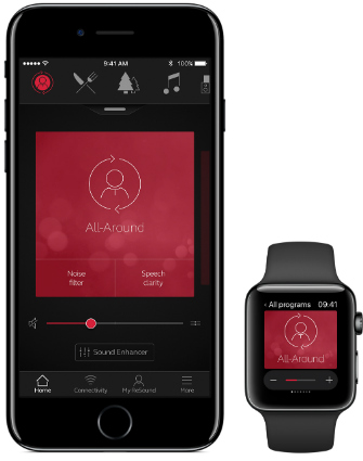 ReSound app iPhone Apple Watch