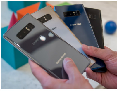 Galaxy Note 8 reviews roundup colors