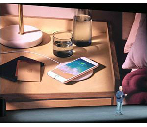 iPhone 8 launch wireless charging image