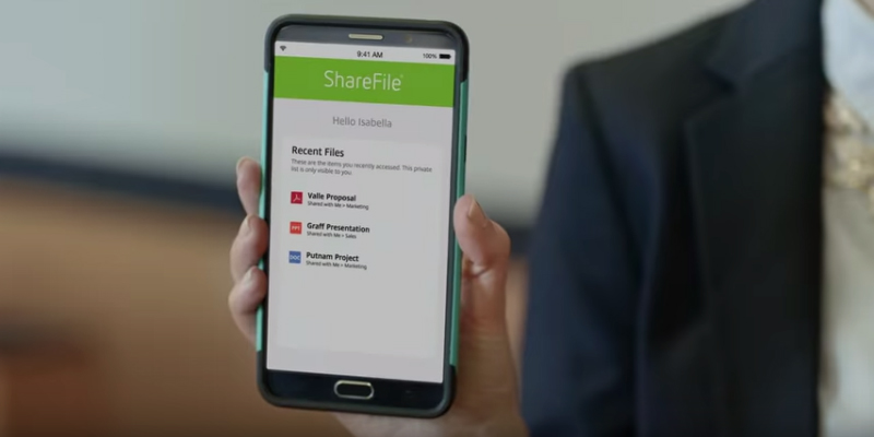 Citrix ShareFile delivers file sharing, team collaboration, e-signing & more