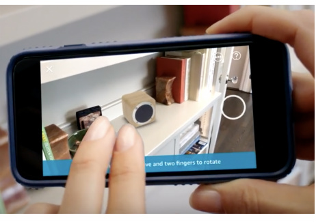 Amazon AR View 3D shopping app