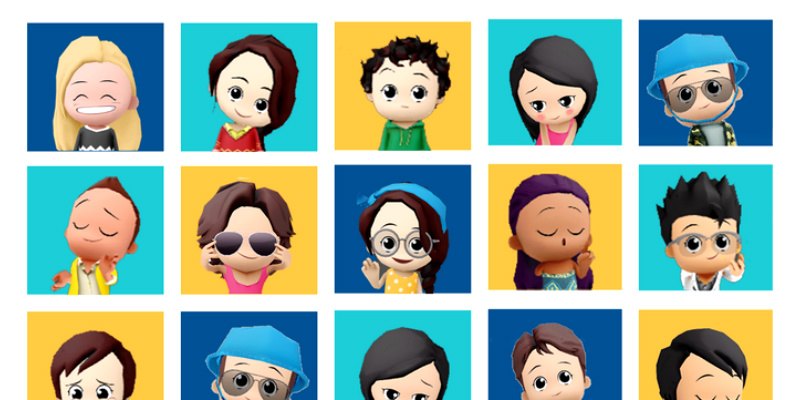 Animated 3D avatars for your favorite Android or iPhone apps with