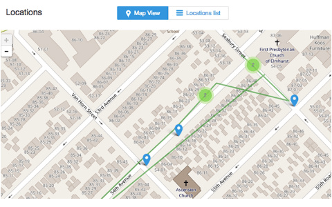 mSpy SMS tracker app iPhone Android location tracking