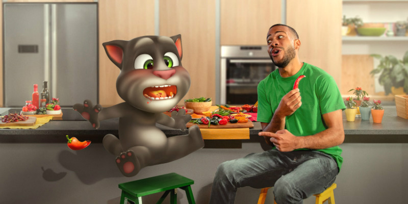 Talking Tom keeps you laughing in new My Talking Tom 2
